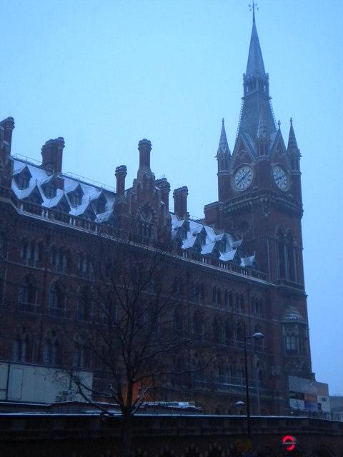 St Pancras Railway Station clocktower, Euston Road NW1