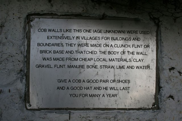 Plaque on the wall