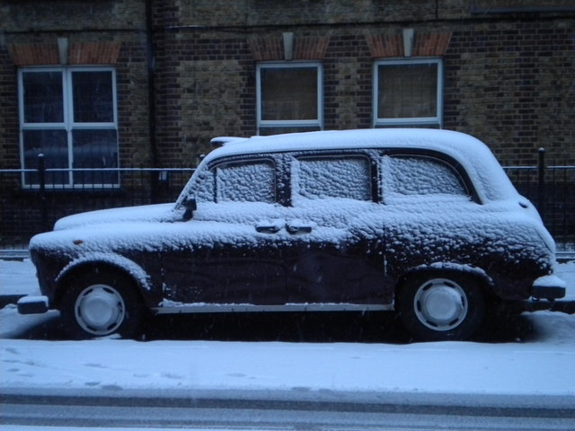 London taxi, Phoenix Road NW1