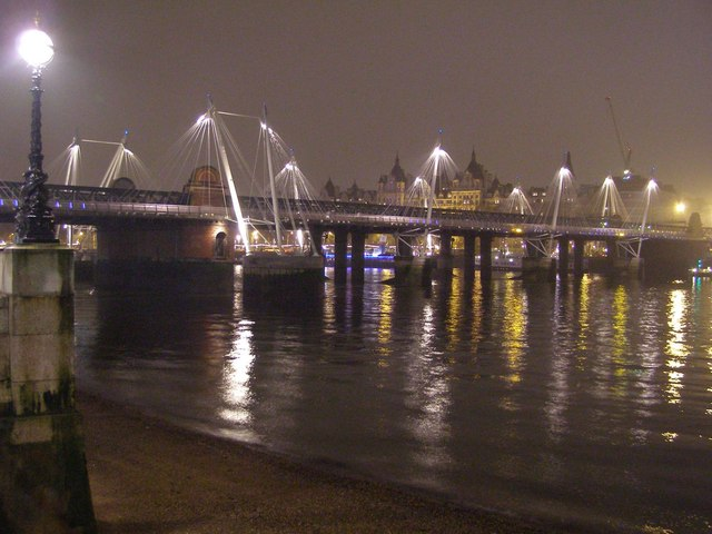 Golden Jubilee Bridge, River Thames