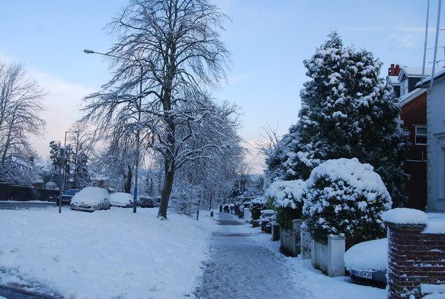 Footpath down Quarry Hill