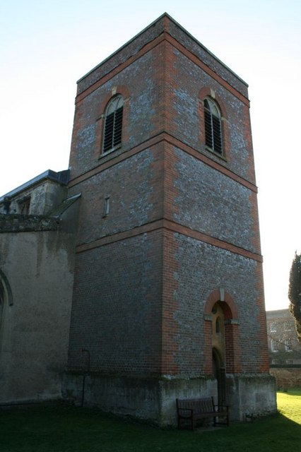 North side of the tower
