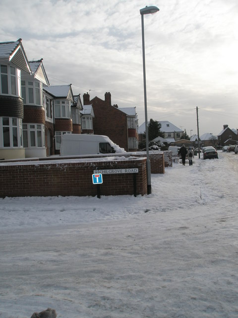 Junction of  Chilgrove Road and Lower Drayton Lane