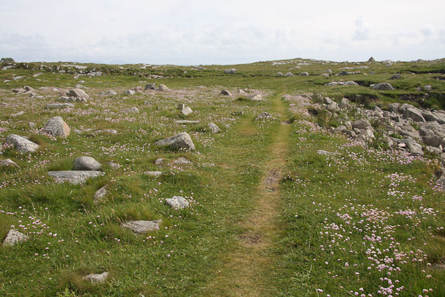 Path around Balranald RSPB reserve
