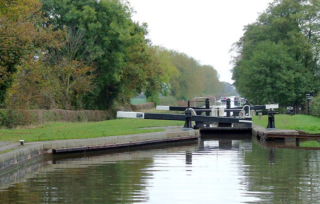 Hunts Lock near Fradley, Staffordshire