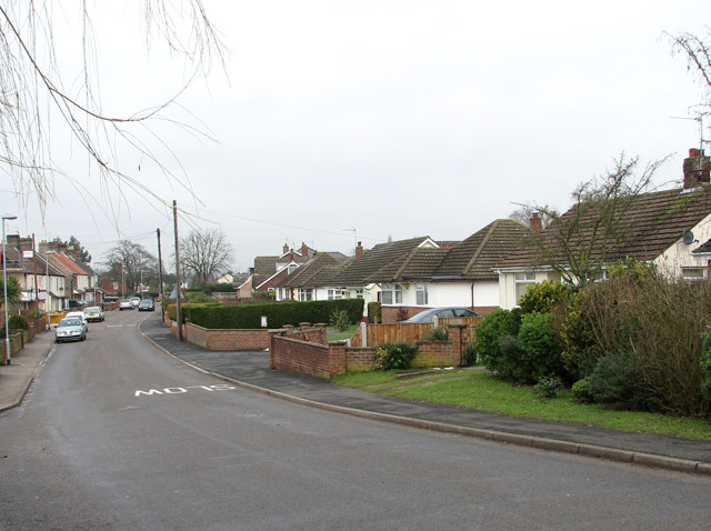 Cottages in Station Road North