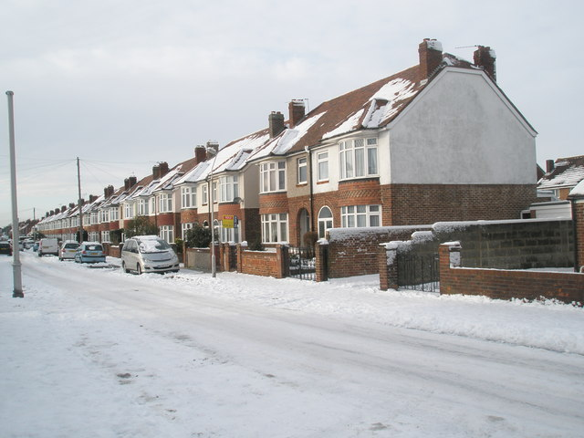 Semi-detached houses in Dysart Avenue