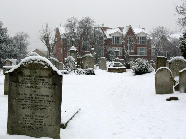 Mitcham churchyard: graves (1)