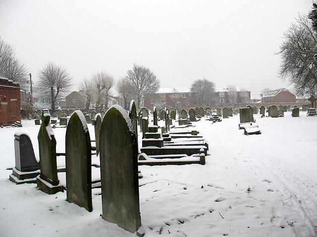 Mitcham churchyard: graves (2)