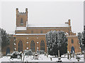 TQ2768 : Mitcham parish church: north side by Stephen Craven