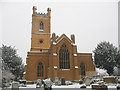 TQ2768 : Mitcham parish church: east end by Stephen Craven