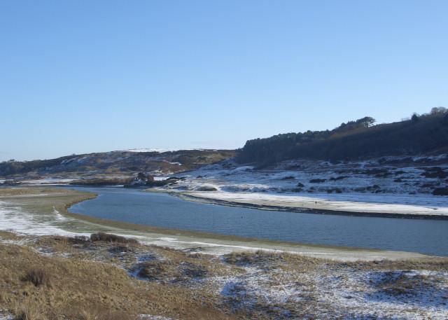 The Ogmore River beneath Craig Ddu