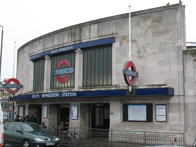 South Wimbledon tube station
