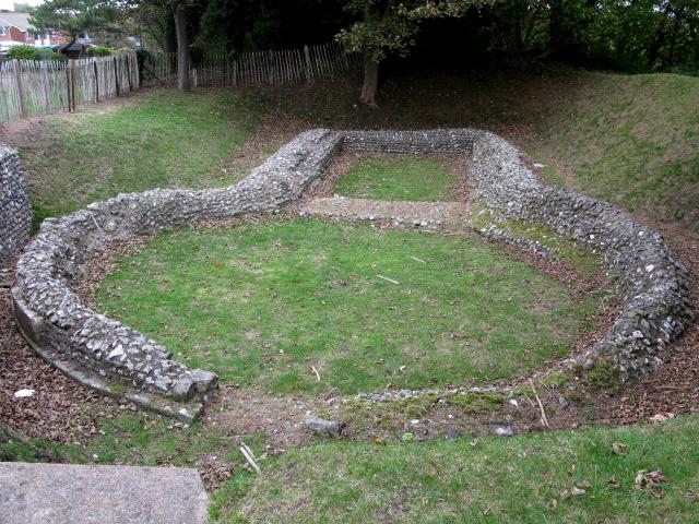 Remains of Knights Templar church