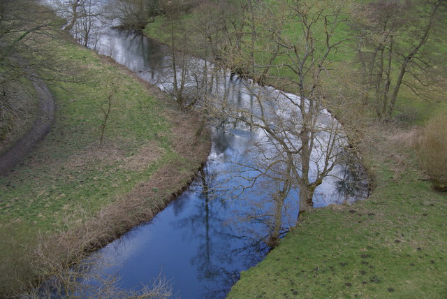 The River Wye at Monsal Head