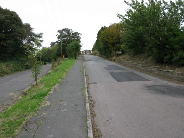 View along Citadel Road and Western Close