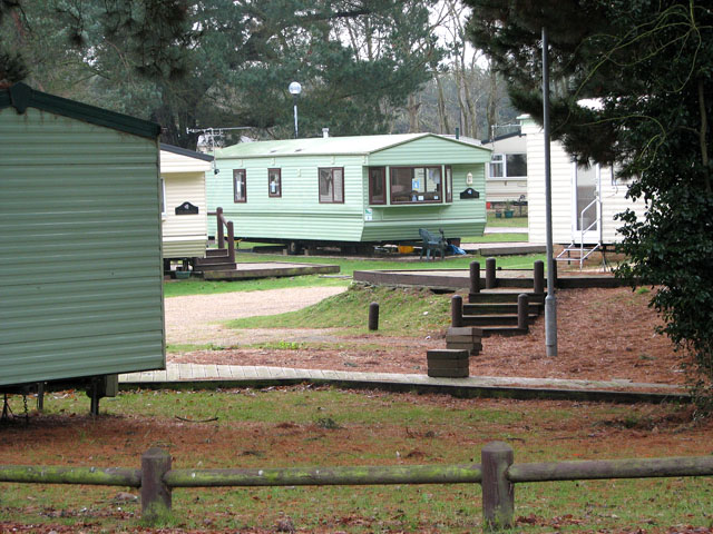 Caravan holiday homes in Wild Duck (Haven) holiday park