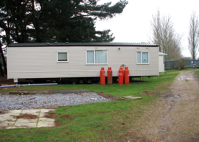 Caravan holiday home in Wild Duck (Haven) holiday park