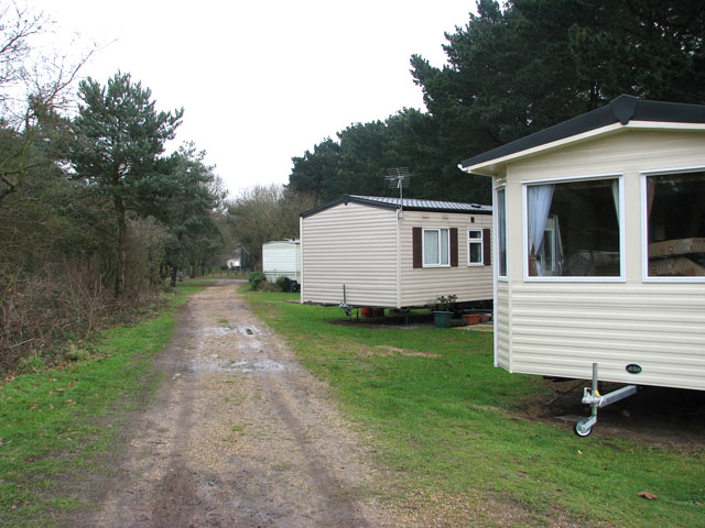 Holiday caravans in Wild Duck (Haven) holiday park