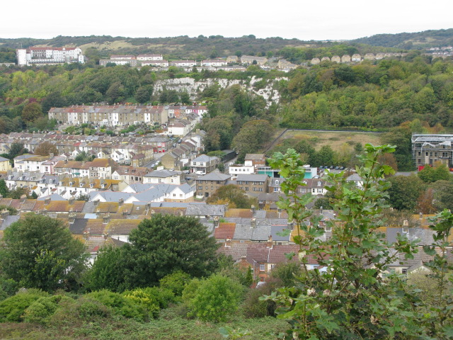 View across Dover from the Western Heights 2