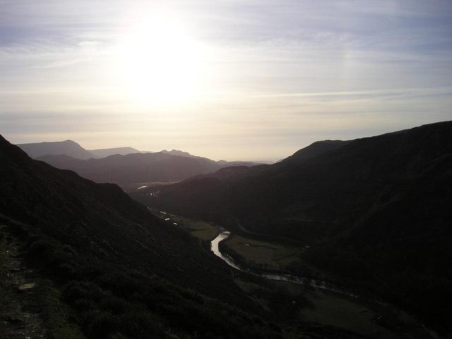Snowdonia: Difficult walking along the Precipice Path