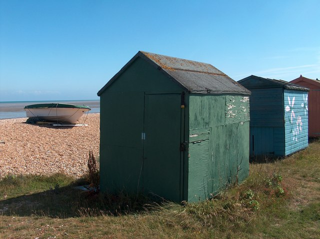 Beach Huts at Romney Sands