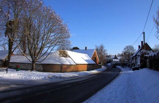 London Road in Blewbury