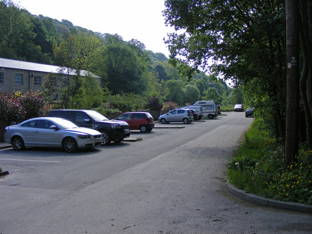 Car parking for Mayroyd Mill