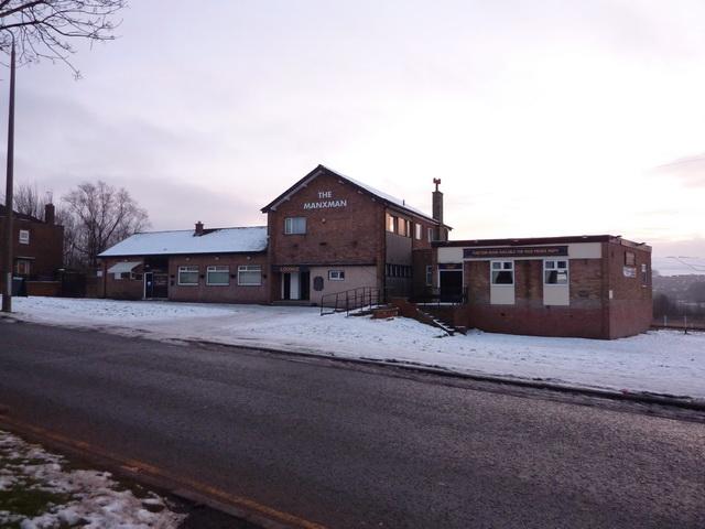 The Manxman, Manxman Road, Blackburn