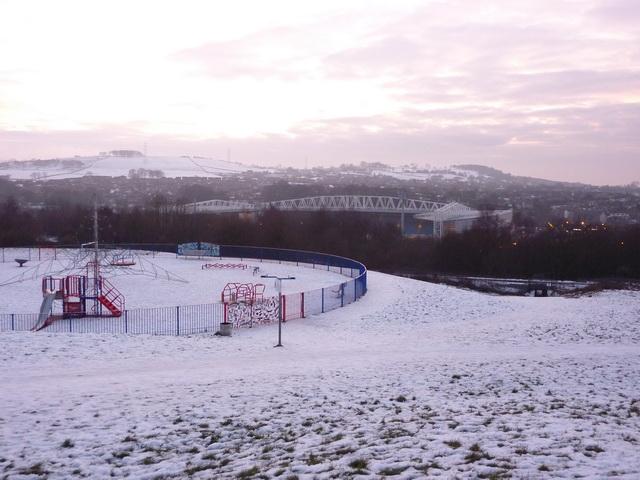 View towards Ewood Park, Blackburn