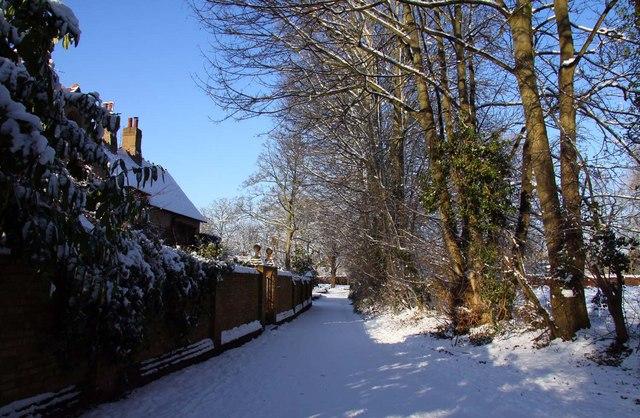 Church End in Blewbury