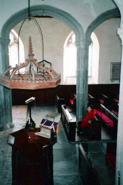 Inside St Swithin's Church