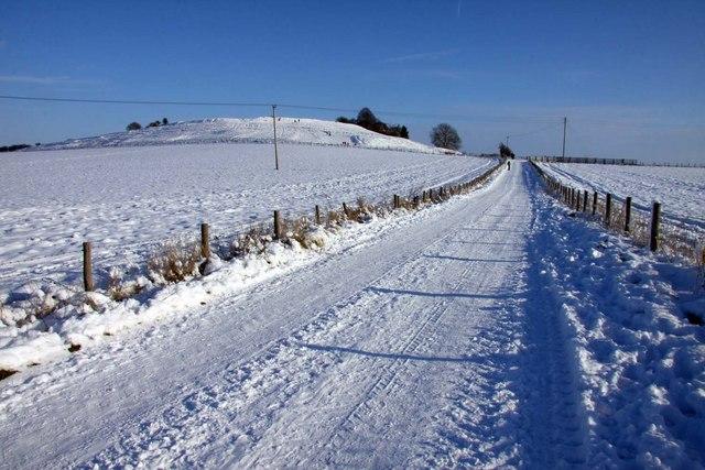 Bridleway to Aston Tirrold