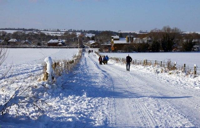 Bridleway to Blewbury