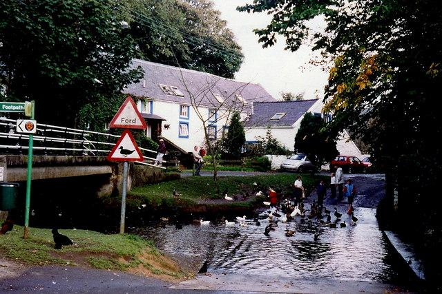 Ballasalla - Mill Road, Silver Burn River ford