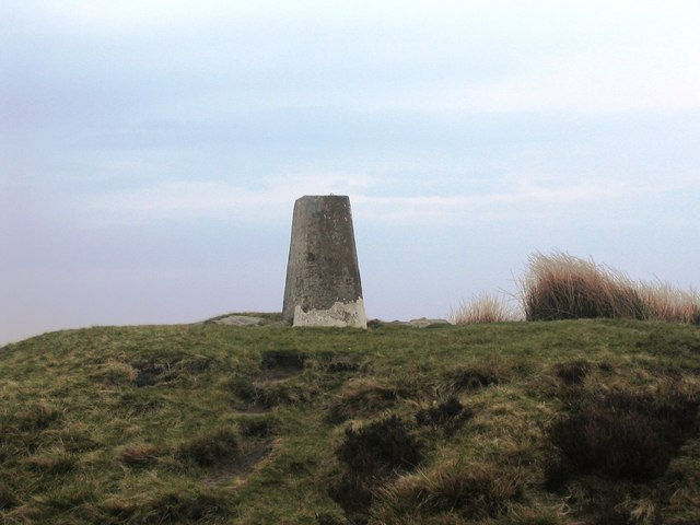 Trig point on Round Hill