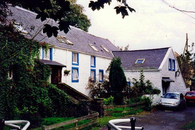 Ballasalla - House at Mill Road, Silver Burn River ford