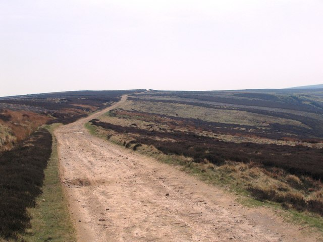 Cleveland Way  (view south)