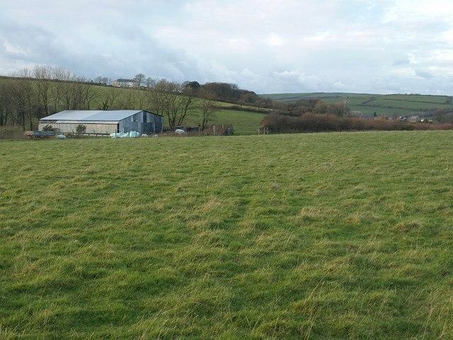 Saints Way near Trevidgeowe Farm