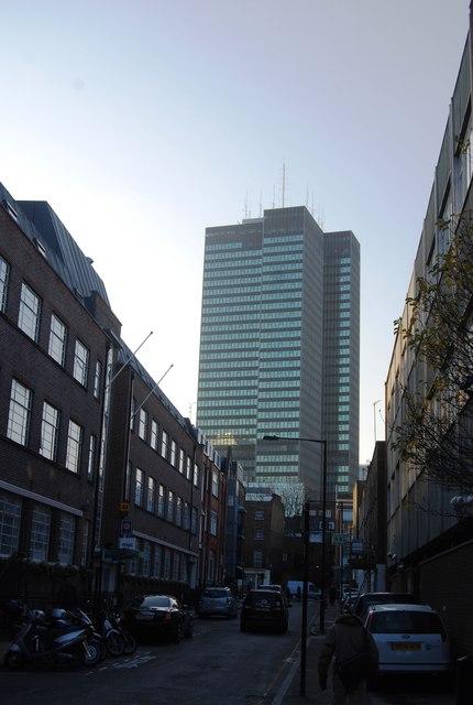 Office block near Euston Station