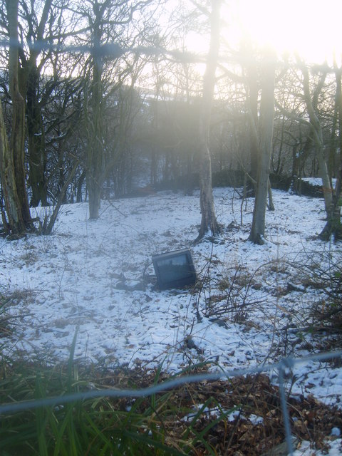 Flytipping Gibson Wood