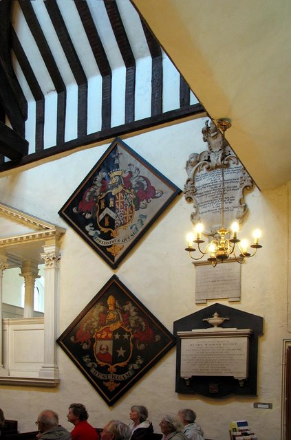 St George, Esher, Surrey - Hatchments