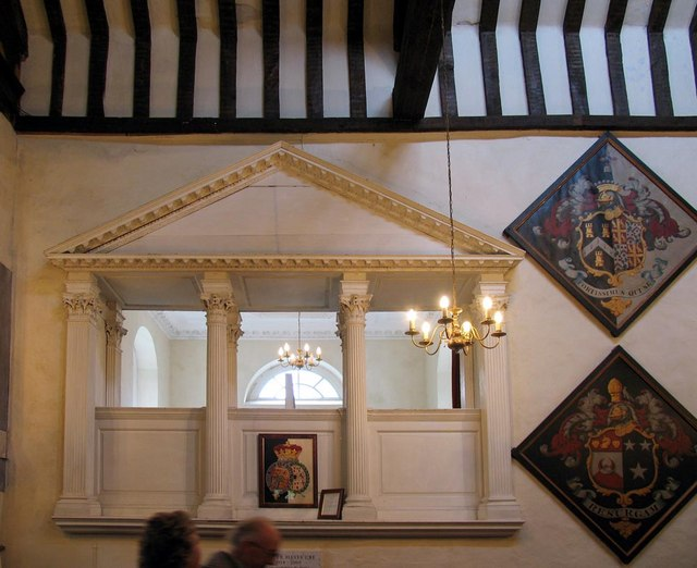 St George, Esher, Surrey - The Chamber pew