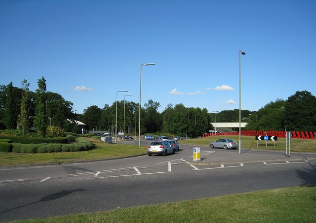 A33 roundabout (Reading Road)