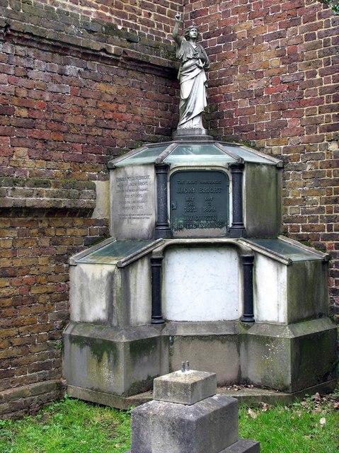 St George, Esher, Surrey - Monument