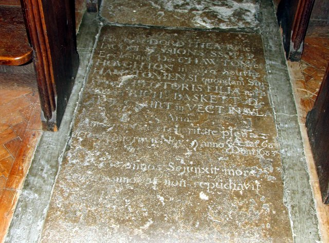 St George, Esher, Surrey - Ledger slab