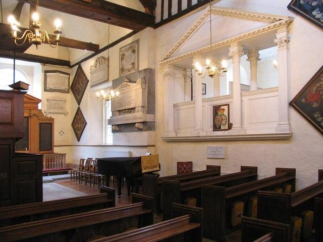 St George, Esher, Surrey - Interior
