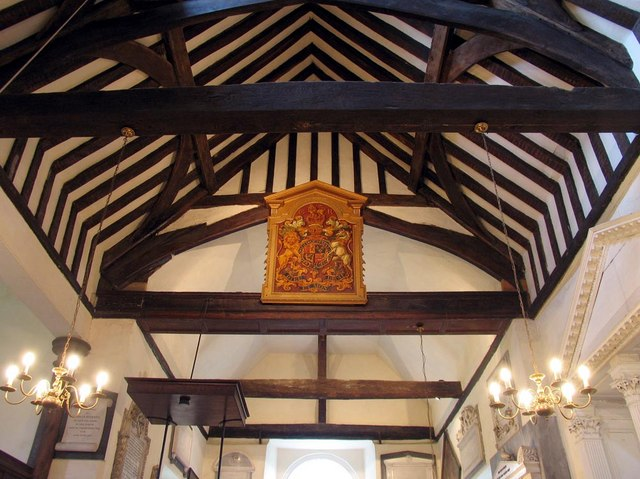 St George, Esher, Surrey - Roof