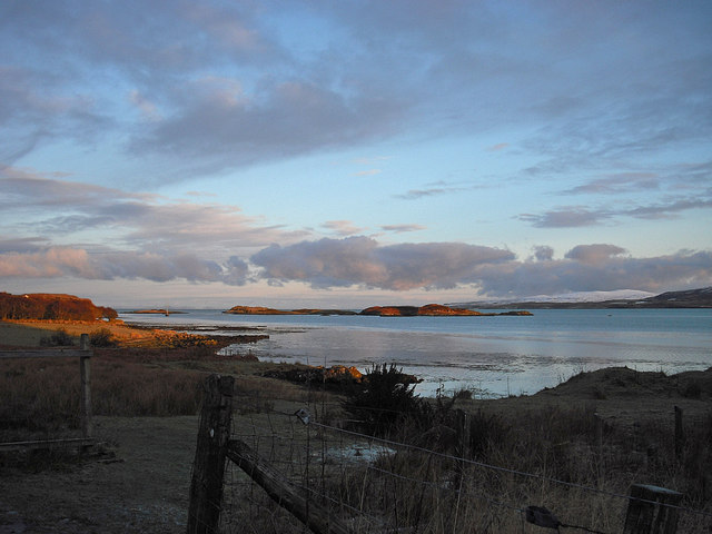 Loch Dunvegan at sunrise