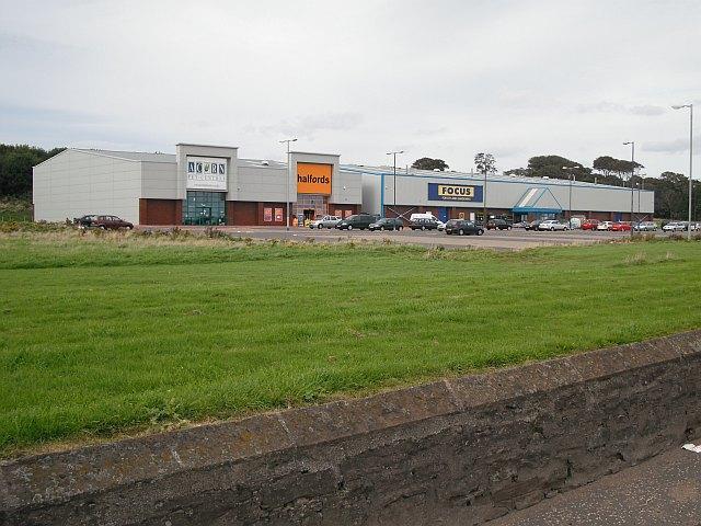 Tin sheds, Dundee Road